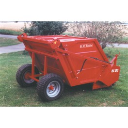 Sweeper Collector - 30hp - Hopper Capacity 1.8m³