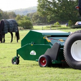 Dung Beetle Paddock Cleaner - PTO Driven and Trailed 1.2m