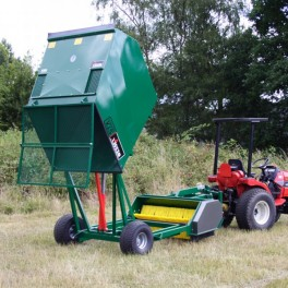 Dung Beetle Paddock Cleaner - PTO Driven and Semi-mounted 1.8m