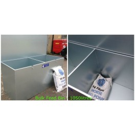 2 Section Bulk Store Feed Bin
