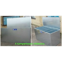 5 Compartment Bulk Storage Feed Bin