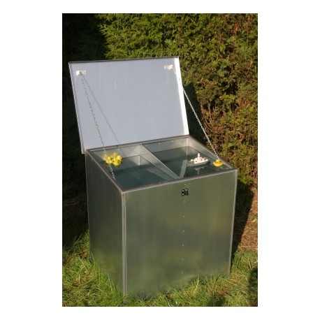 Weather Proof Four Compartment Feed Bin