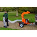 Professional Leaf Suction Unit - Road Legal Towed Version- SCH PSUFT