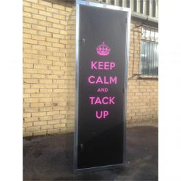 """Keep Calm"" Triple Tack Locker"