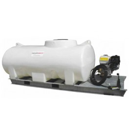 5000L Pressure Washer Skid Unit - 13 L/m - 2900Psi (200Bar) Honda Petrol & Recoil