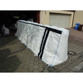 Quick Wall Surface Barrier (5m length x 0.6m height) - 10 x 5m (50m)