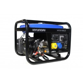 Petrol Generator 2.8kW/3.5kVA - 115v/230v Long Run Tank with Electric Start