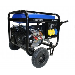 Petrol Generator 6.6kW/8.25kVA - 115v/230v Long Run Tank with Elec Start