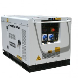 Standby Diesel Generator 10kW/12.5kVA - 230v Silenced 3000rpm