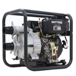 "3"" (80mm) Diesel Trash Pump with Electric Start"