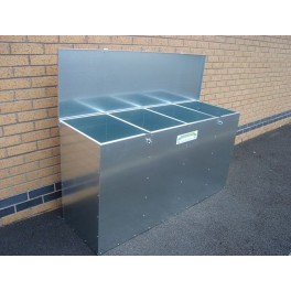 4 Compartments 675 Litres Large Feed Bin