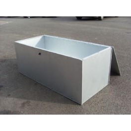Galvanised Horse Blanket Box