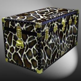 Customisable Storage Trunk - L97 x W50 x H51 cm - 247 Litre - Wooden, ABS Trim