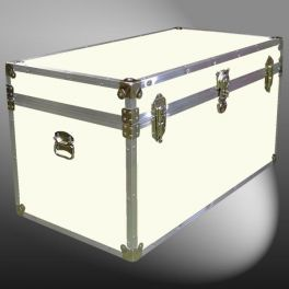 Customisable Storage Trunk - L92 X W50 X H51 cm - 235 Litre - Wooden, ABS Trim