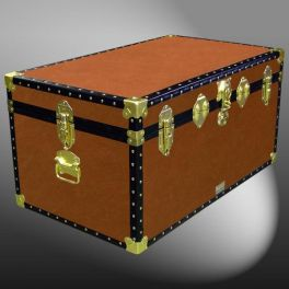 Customisable Storage Trunk - L84 x W50 x H42 cm - 176 Litre - Wooden, ABS Trim