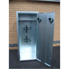 2 Saddle Large Tack Locker