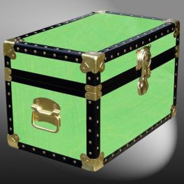 Customisable Storage Trunk - L49 x W30 x H31 cm - 45.5 Litre - Wooden, ABS Trim