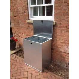 650 litre Galvanised Feed Bin Flat Pack