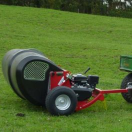 Towed Pro Collector 7hp with Electric Start - 1500mm wide
