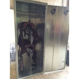 Western Tack Locker - 2 Saddle