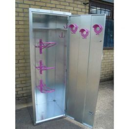 Extra Height 3 Saddle Tack Locker (Coloured Door)