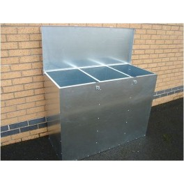 3 Compartments 540 Litres Large Feed Bin