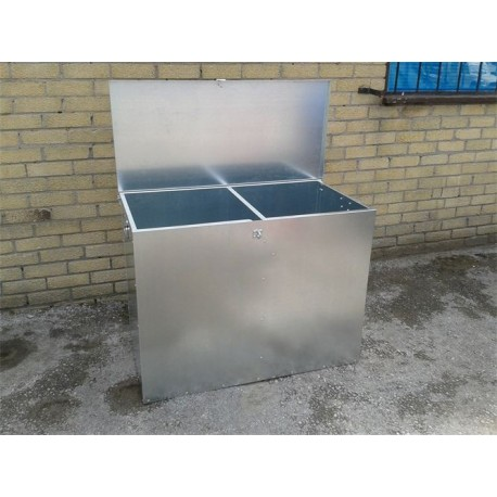 Double Comp Feed Bin - 2 compartments