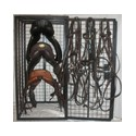 Security Tack Cage - 3 Saddle