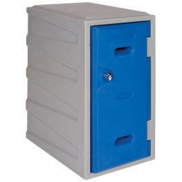 Medium Plastic Locker with Key operated Lock