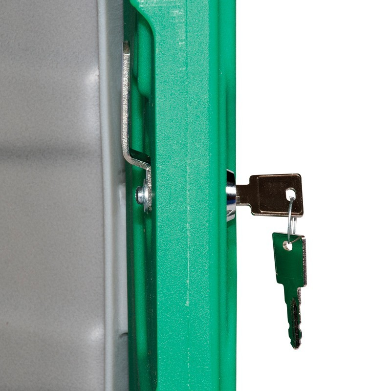 Small Plastic Locker With Key Operated Lock The Tack
