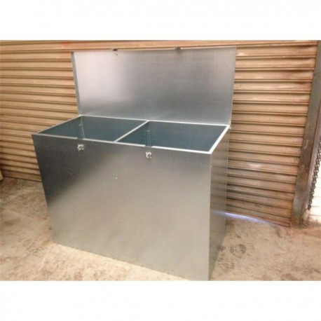Large 2 Compartment Feed Bin