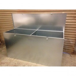 Large 2 Compartment (twin) Feed Bin