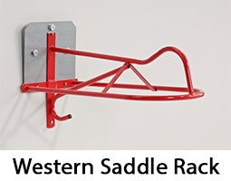 Western Saddle Rack