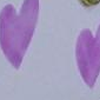 Wood Wash Cream w Purple Hearts